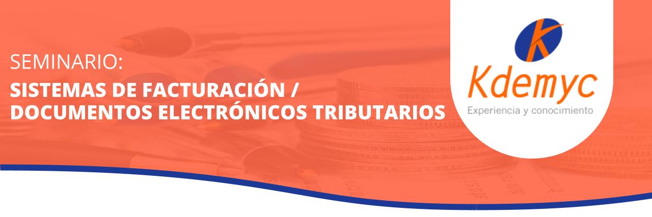 Sistema de facturación y documentos electrónicos tributarios